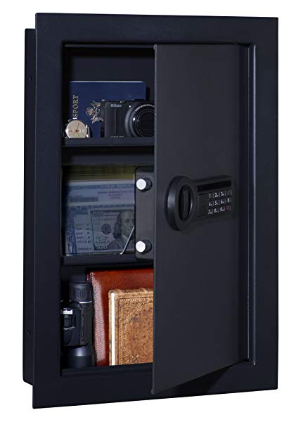 Stack-On in-wall safe
