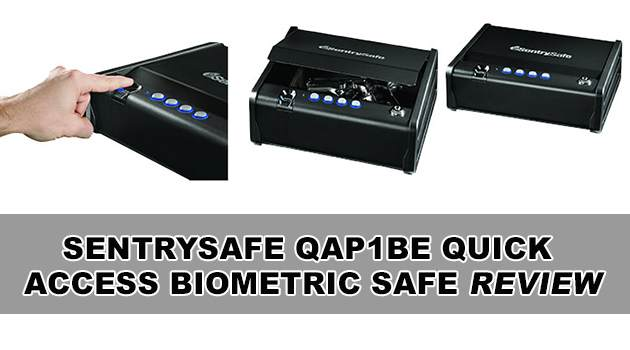 Sentrysafe Biometric Safe Review